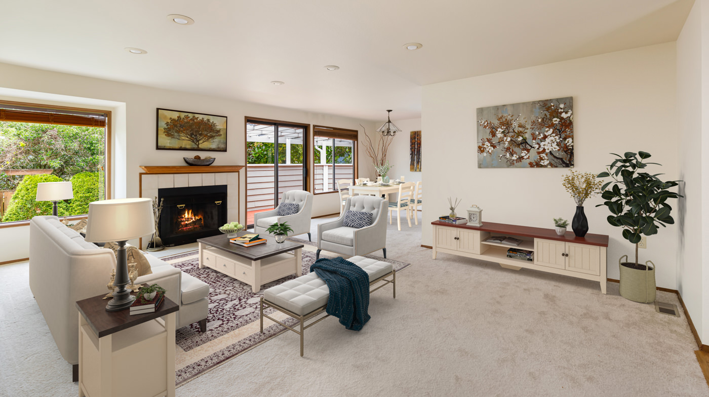 Seattle real estate virtual staging